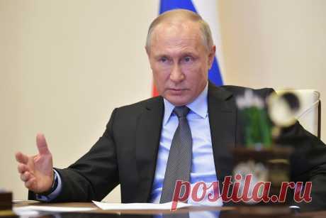 1.05.2020-Путин обещал строго наказывать власти на местах за неэффективную борьбу с COVID-19 — Российская газета