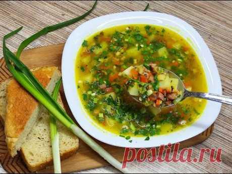 Гороховый суп  с копчёности