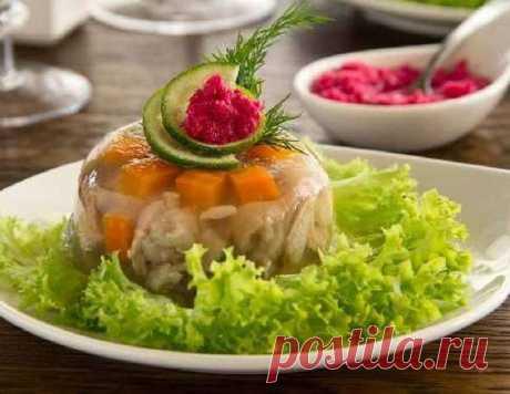 Праздничный холодец из свинины - рецепт приготовления с фото от Maggi.ru
