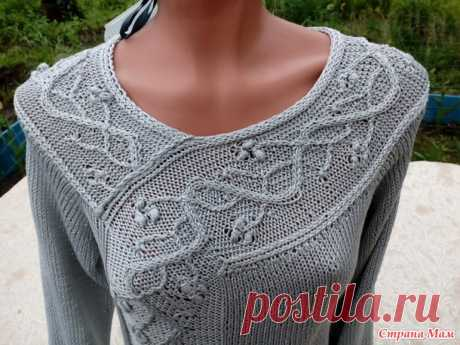 Winterberri pullover. - Knitting - the Country of Mothers