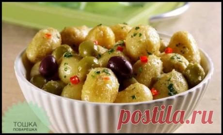Необычная закуска «Министерство» или Салат «Olive»!