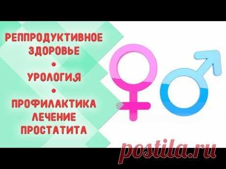 Репродуктивное здоровье. Простатит лечение и профилактика. Охрана здоровья - YouTube