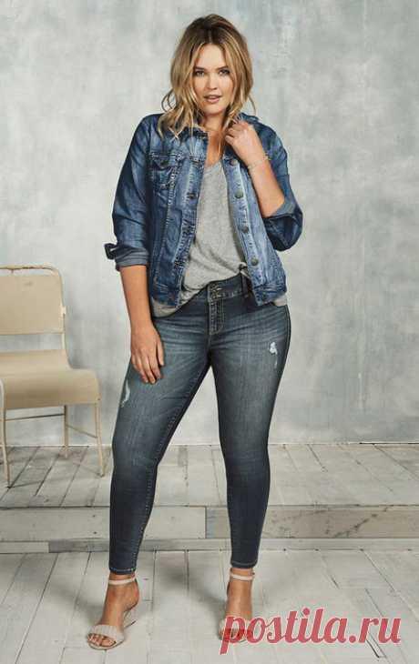 8 способов отлично выглядеть в обтягивающих джинсах, если ты не худышка