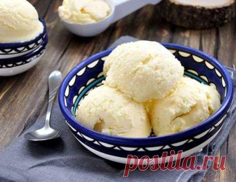 Домашнее мороженое - рецепт приготовления с фото от Maggi.ru