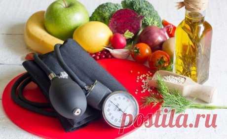 Высокое давление — ешьте 10 продуктов