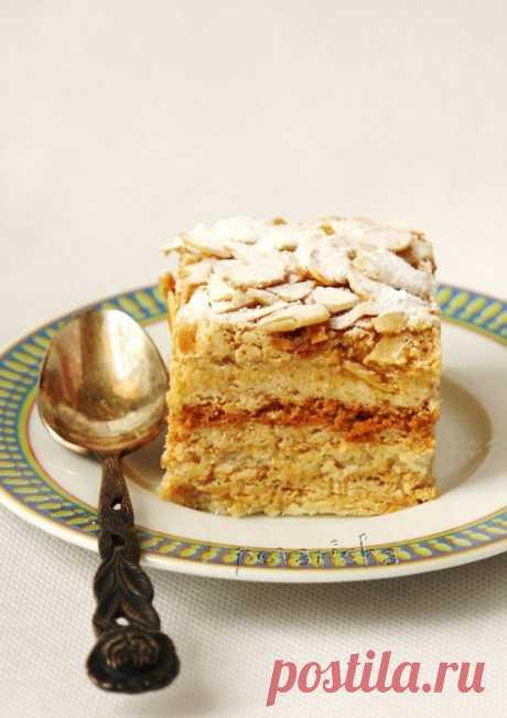 Миндальный торт Еллен Свинхуфвуд - Еllen Svinhufvudin kakku - Блог настоящей тёщи