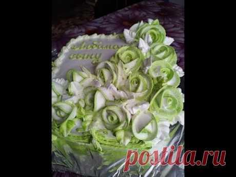 Украшение торта БелковоЗаварнымКремом.Торт для мужчины. Cake Decoration Protein Custard Cream