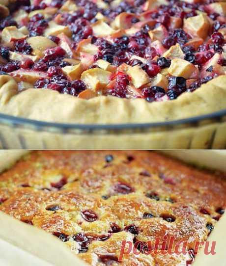 Пироги с замороженными ягодами: лучшие рецепты и особенности приготовления / Простые рецепты