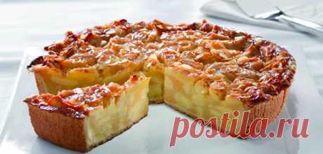 Пирог с яблоками: простые рецепты яблочного пирога