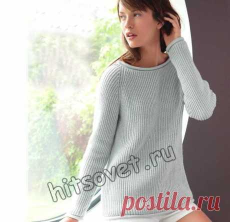 Стильный женский пуловер