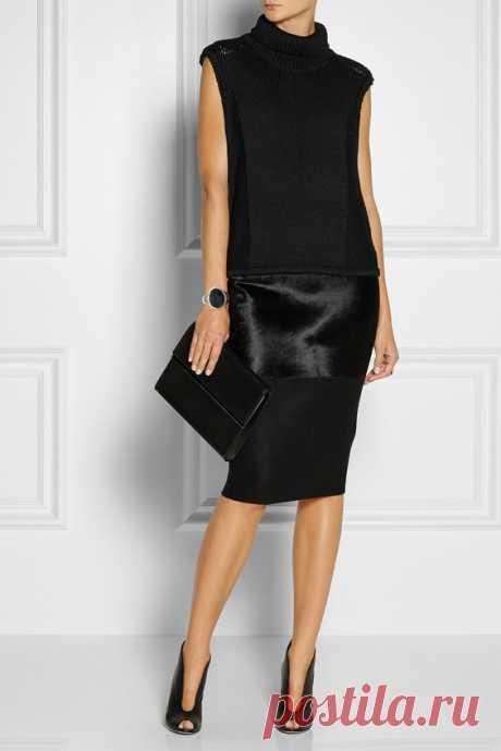 Идеальный черный: 11 ультра-модных образов в стиле минимализм