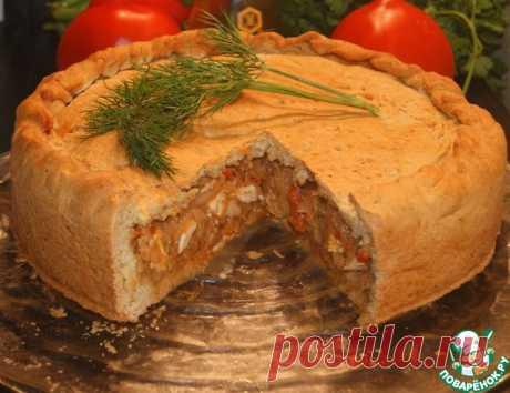 Ароматный пирог с капустой - мало теста и МНОГО начинки