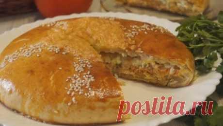 ¡Vkusneyshy el pastel de pez! Es imposible desgajarse) la receta de la foto