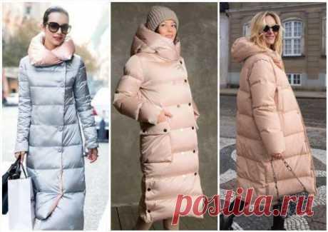 Модные и теплые пуховики зимы 2020: цвета, фасоны, ткани | Офигенная