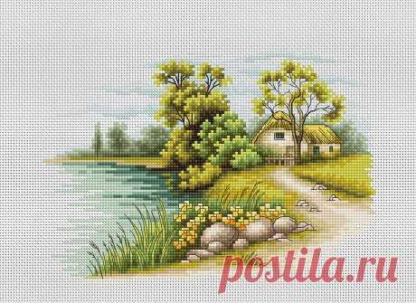 Пейзажи | Рукодельный магазин Иголочка. Все для вышивки и рукоделия.