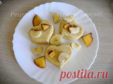 ПП бананово-творожные кексы просто тают во рту! Готовить всего 10 минут! | Рецепты ПП - худеем вкусно! | Яндекс Дзен