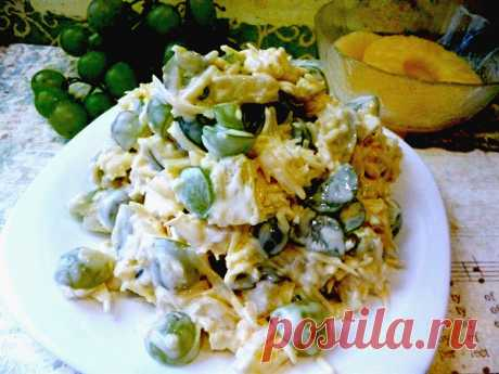 Салат французских цыган  Салат французских цыган имеет необычное на первый взгляд сочетание ингредиентов. Но получается очень вкусным!