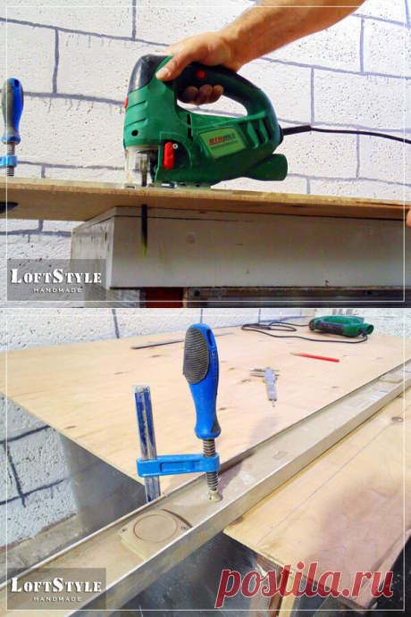 Самый простой способ резать лобзиком идеально ровно | Столярка своими руками | Яндекс Дзен