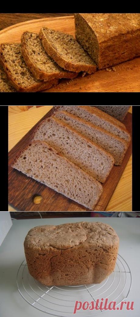 Ржаной хлеб в хлебопечке - быстрый и простой рецепт! - YouTube