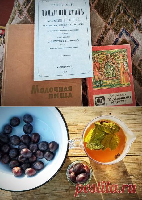 Мочёные сливы на зиму по старорусски: рецепт из книги 1887 года, которую нашла в сельской библиотеке | Дауншифтеры | Яндекс Дзен