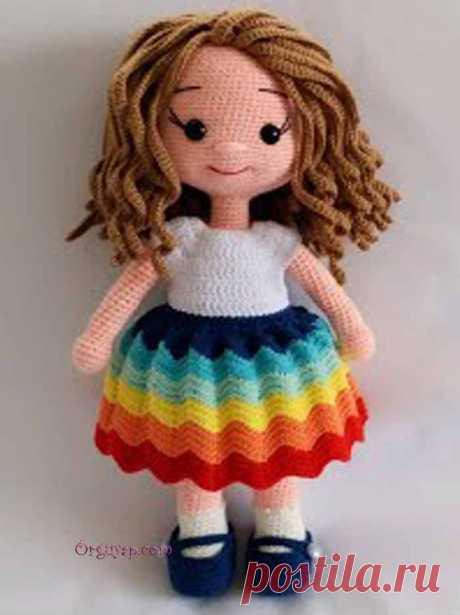 Amigurumi Reyhan Bebek Yapımı | Örgüyap.com Çocuklara kolayca yapılabilecek oldukça sevimli reyhan bebek modeli.