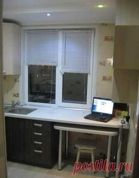 Ремонт кухни 5 квадратных метров.