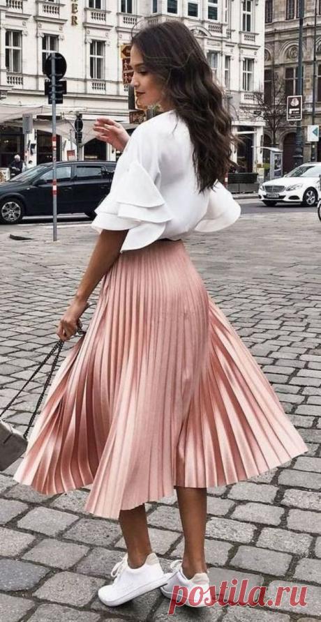 5 стильных образов с юбками на осень 2020 | Твоя Подружка | Яндекс Дзен