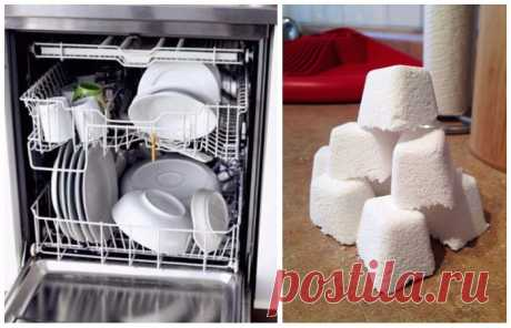 Как сделать «таблетки» для посудомоечной машины и без лишних расходов . Милая Я