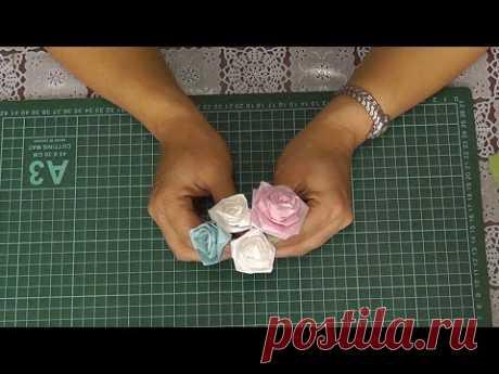 Розы из тутовой бумаги. Мастер-класс