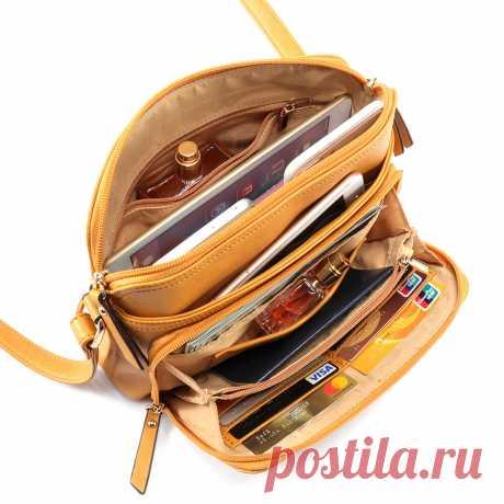 Многокамерные сумка через плечо из искусственной кожи Ваш друг поделился с вами модным сайтом и дает вам скидку до 20%! требуй это сейчас.