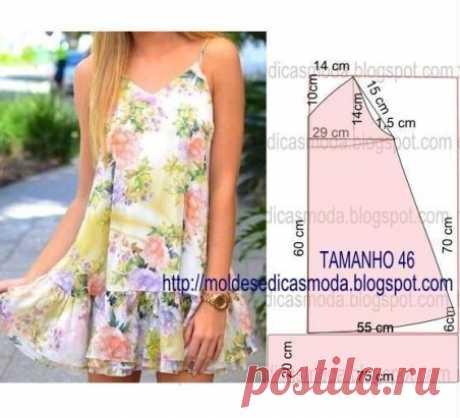Идея платья на лето