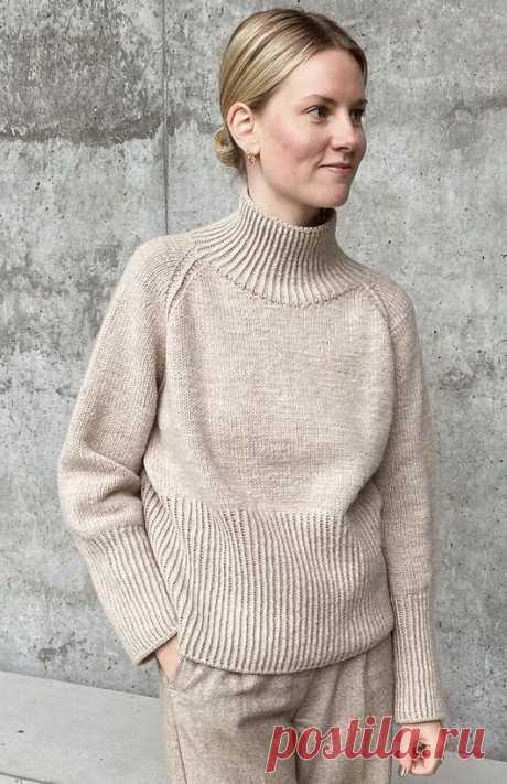 Вязаный свитер Bore