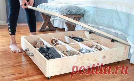 19 милых идей для хранения, если в шкафах уже нет места