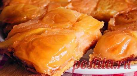 Янтарный пирог Татьяны Толстой, пошаговый рецепт с фото