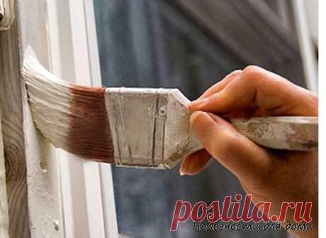 Как правильно покрасить деревянные окна? | Полезности для дома | Яндекс Дзен