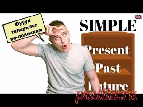 ВСЕ ВРЕМЕНА по полочкам (Present Simple, Past Simple, Future Simple)