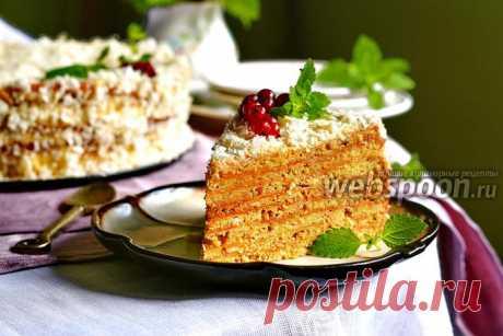 Арахисовый торт «Коровка», как приготовить на Webspoon.ru