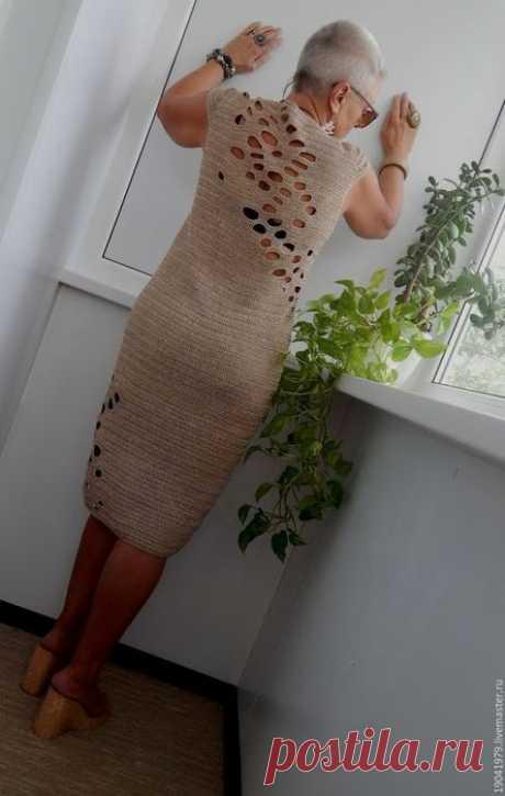 """Стильное платье """"Камушки"""" от стильного мастера Натальи Филипповой-Агасиевой"""