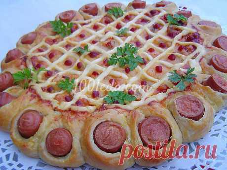 Экономная пицца на ужин: рецепт с пошаговым фото - Пицца от 1001 ЕДА