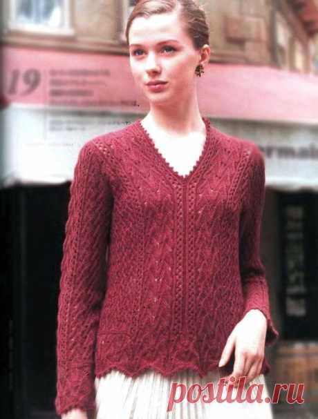 Модели из японских журналов. Подробный разбор схем вязания   Магия Вязания / Knitting Magic   Яндекс Дзен