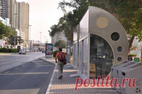 В Дубае установлено 126 остановок с кондиционерами