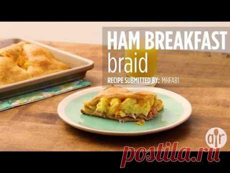 How to Make Ham Breakfast Braid   Breakfast & Brunch Recipes   Allrecipes.com