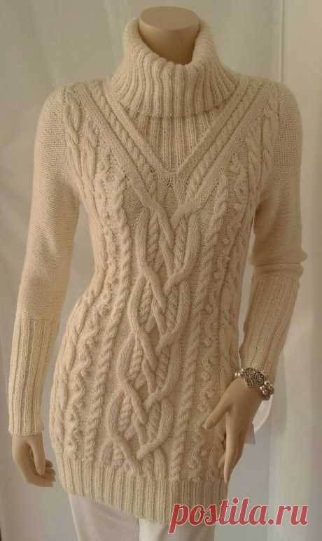Inspiration | How to knit | Sweaters | Ручное вязание, Вязание и Вязание руками Inspiration