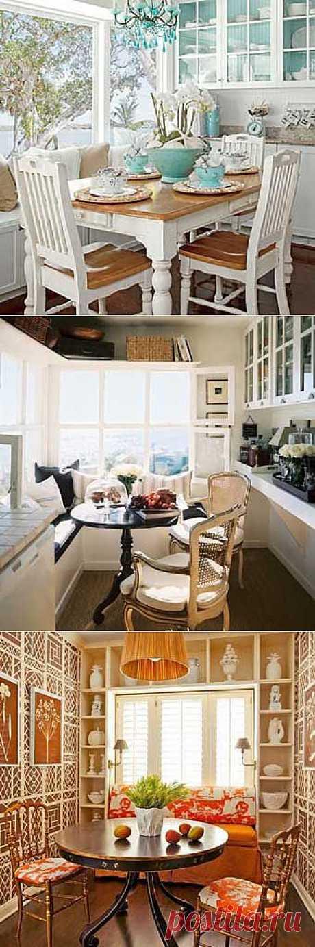 Стильные кухни: размещаем кухонный стол