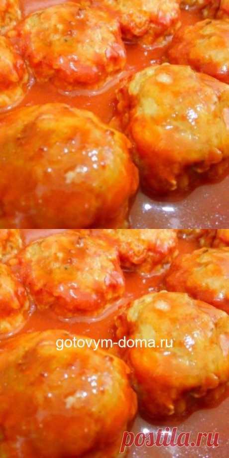 Тефтели с рисом в томатном соусе – одни из самых частых гостей на моей кухне.