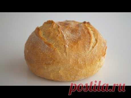 """Хлеб без замеса """"5 минут в день"""" Простой и невероятно вкусный"""