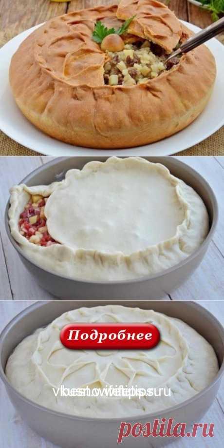 Татарский пирог зур бэлиш. Делаю по 2 порции — всегда не хватает. - vkusno
