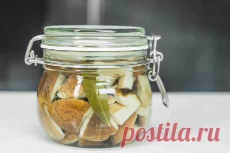 Как мариновать грибы – «Еда»