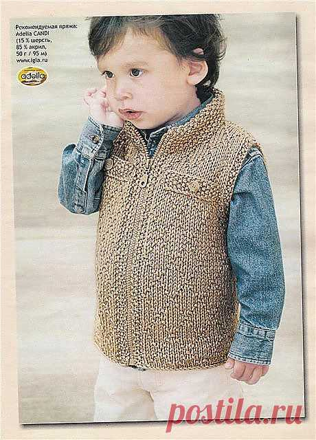 Vest for the real boy spokes. There are a scheme and the description.