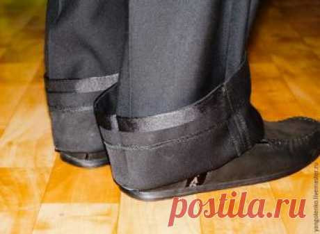 Как укоротить брюки самостоятельно! .